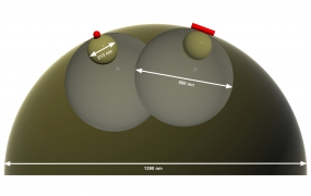 Self‐Assembly of Spherical or Rod‐Shaped Magnetic Nanocrystals onto Curved Substrates Governed by the Radius of Curvature